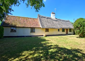 Thumbnail 2 bed cottage for sale in Common Road, Weston Colville, Cambridge