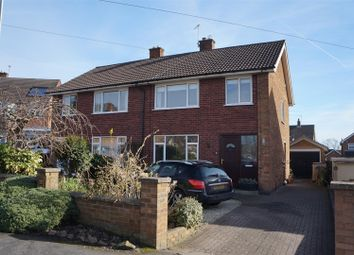 Thumbnail 3 bed semi-detached house for sale in Martin Avenue, Barrow Upon Soar, Loughborough