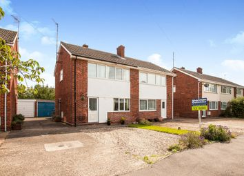Thumbnail 3 bed semi-detached house for sale in Springfield Road, Sawston, Cambridge