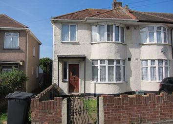 Thumbnail 3 bed end terrace house for sale in Westbury Avenue, Southall