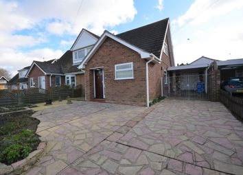 Thumbnail 3 bed semi-detached bungalow for sale in Beverley Close, Lowestoft