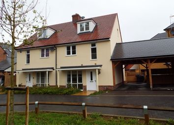 Thumbnail 3 bed property to rent in Ronald Eastwood Row, Ashford