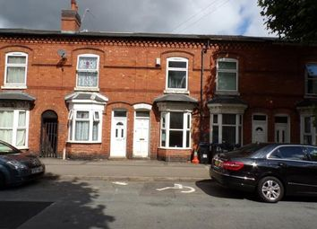 Thumbnail 2 bedroom terraced house for sale in Madeley Road, Sparkhill, Birmingham, West Midlands