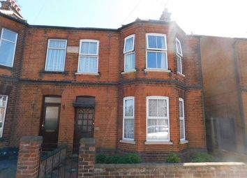 Thumbnail 4 bed end terrace house for sale in Sidegate Lane, Ipswich