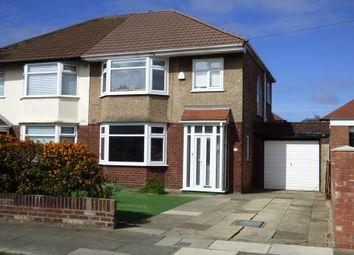 Thumbnail 3 bed semi-detached house for sale in Ronaldsway, Crosby, Liverpool