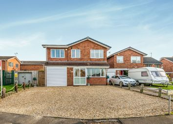 Thumbnail 4 bed detached house for sale in Edwin Close, Penkridge, Stafford