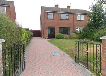 Thumbnail 3 bed semi-detached house for sale in Bucklesham Road, Kirton IP100Pe Ip10, Kirton,