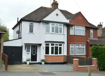 Thumbnail 3 bed semi-detached house for sale in Somerset Avenue, Chessington