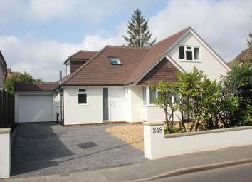 Thumbnail 4 bed detached house to rent in Old Woking Road, Pyrford, Woking