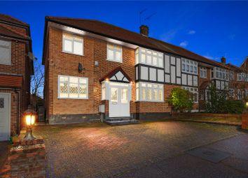 Thumbnail 4 bed semi-detached house for sale in Lyndhurst Rise, Chigwell, Essex