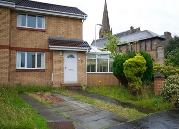 Thumbnail 2 bed semi-detached house for sale in Cross Stone Place, Motherwell