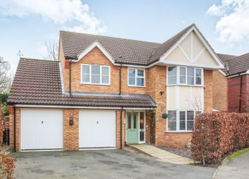 Thumbnail 4 bed detached house for sale in Foxglove Road, Market Rasen