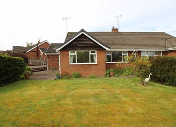 Thumbnail 2 bed semi-detached bungalow for sale in Folly Fields, Cheddleton, Staffordshire