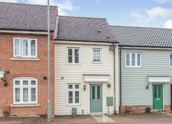 Thumbnail 2 bed terraced house for sale in Canberra Road, Carbrooke, Thetford