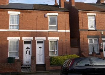 Thumbnail 2 bed end terrace house to rent in St Margarets Road, Stoke, Coventry