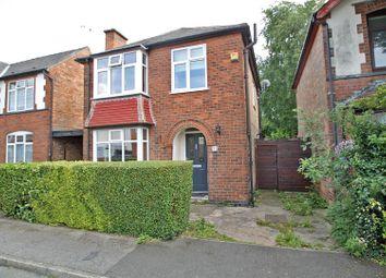 Thumbnail 3 bed detached house for sale in Curzon Avenue, Carlton, Nottingham