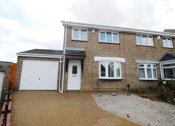 Thumbnail 3 bed semi-detached house for sale in Lytham Close, Washington, Tyne And Wear