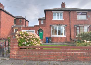 Thumbnail 2 bed semi-detached house for sale in Ormonde Avenue, Denton Burn, Newcastle Upon Tyne
