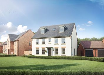 "Thumbnail 5 bedroom detached house for sale in ""Buckingham"" at Station Road, Warboys, Huntingdon"