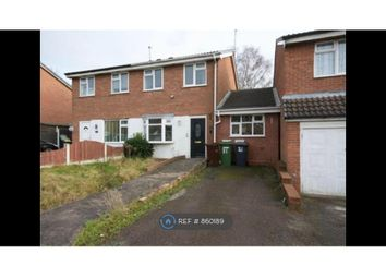 Thumbnail 3 bed semi-detached house to rent in Gurnard Close, Willenhall
