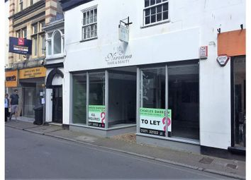 Thumbnail Retail premises to let in 19 Joy Street, Barnstaple