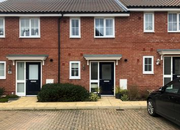 Thumbnail 2 bed terraced house for sale in Montagu Drive, Saxmundham