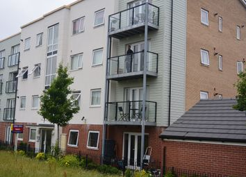 Thumbnail 2 bed flat to rent in Onxy Crescent, Leicester