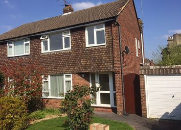 Thumbnail 3 bed semi-detached house to rent in Barons Court, Off Oakwood Road, Burgess Hill
