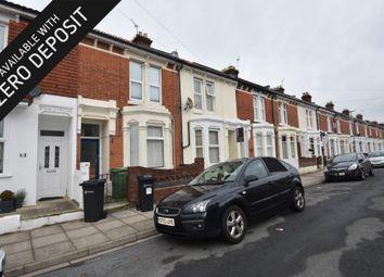 Thumbnail 4 bedroom terraced house to rent in Bramshott Road, Southsea
