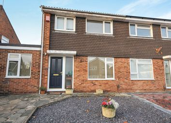 Thumbnail 4 bed semi-detached house for sale in Claremont Road, Hextable, Swanley