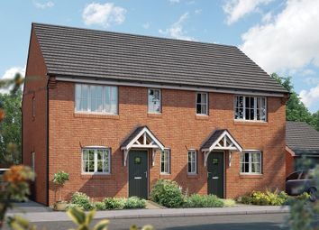 "Thumbnail 3 bed semi-detached house for sale in ""The Southwold"" at Station Road, Lower Stondon, Henlow"
