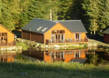 Thumbnail 3 bed detached bungalow for sale in Leighton Lodge, Glengoulandie Country Park, Pitlochry