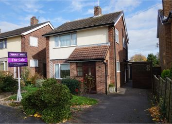 Thumbnail 3 bed detached house for sale in Laburnum Crescent, Derby