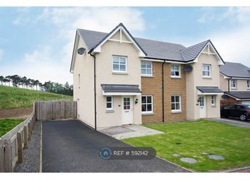 Thumbnail 3 bedroom semi-detached house to rent in Correen Way, Alford, Aberdeenshire