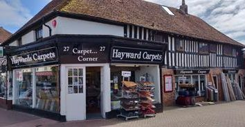Retail premises for sale in Haywards Carpets, 27 High Street, Hailsham, East Sussex BN27
