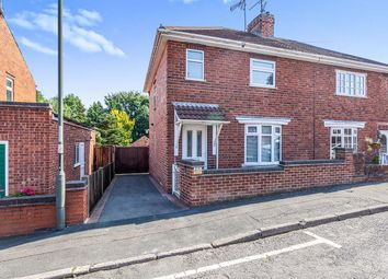Thumbnail 2 bed semi-detached house for sale in Burns Street, Heanor, Derbyshire