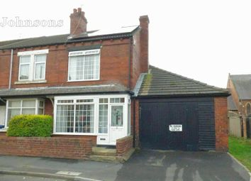 Thumbnail 2 bed end terrace house for sale in Highfield Road, Askern, Doncaster.