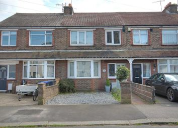 Thumbnail 3 bed terraced house for sale in Bruce Avenue, West Worthing, West Sussex