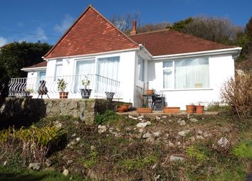 Thumbnail 3 bedroom detached bungalow for sale in Langland Bay Road, Langland, Swansea
