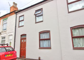 Thumbnail 3 bed terraced house for sale in Russell Street, Loughborough