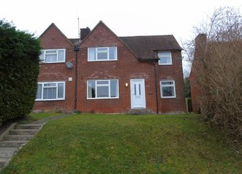 Thumbnail 4 bed semi-detached house to rent in Stanmore Lane, Winchester