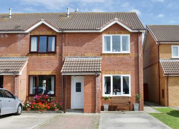 Thumbnail 2 bed end terrace house for sale in Lon Eirin, Towyn, Conwy