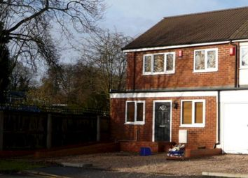 Thumbnail 3 bed end terrace house to rent in Bromwich Drive, Sutton Coldfield