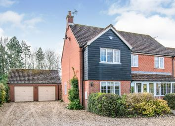 Thumbnail 4 bed detached house for sale in Stony Lane, Reepham, Norwich