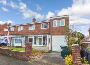 Thumbnail 4 bed semi-detached house for sale in Newquay Gardens, Low Fell, Gateshead