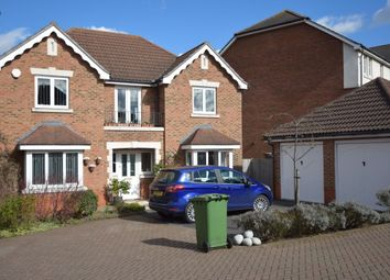 Thumbnail 4 bedroom detached house for sale in Barnock Close, Crayford, Dartford