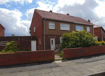 Thumbnail 3 bed semi-detached house for sale in Glasgow Road, Jarrow