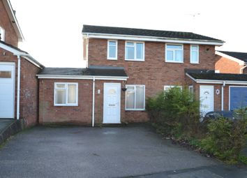 Thumbnail 2 bed semi-detached house to rent in Shelmore Way, Gnosall, Stafford