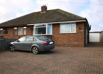 Thumbnail 2 bed semi-detached bungalow for sale in Hopley Road, Anslow, Burton-On-Trent