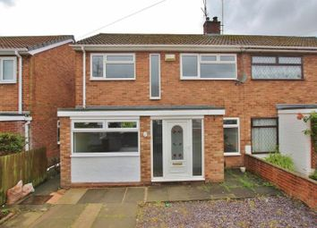 Thumbnail 3 bed semi-detached house for sale in Linden Drive, Prenton, Wirral